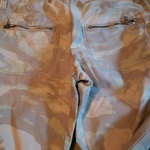 Fatigue style pants
